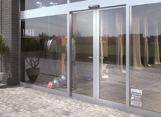 Puerta Automática para negocios y empresas